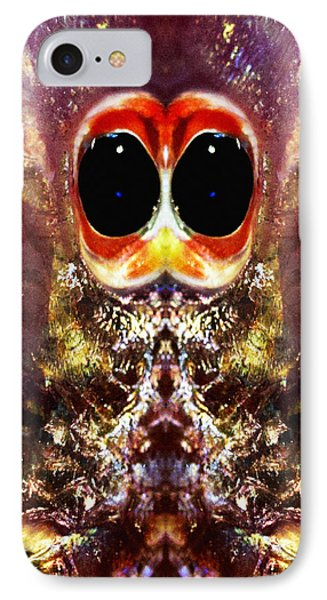 Bug Eyes Phone Case by Skip Nall