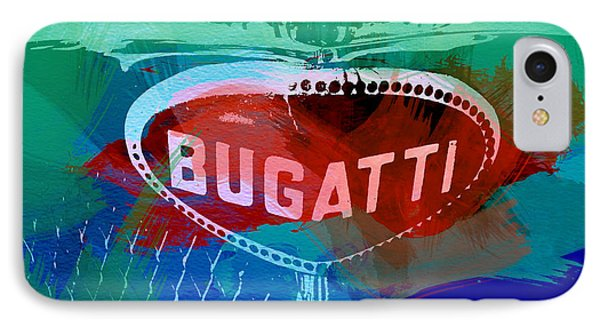 Bugatti Badge Phone Case by Naxart Studio