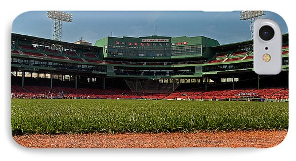 Bugs Eye View From Center Field Phone Case by Paul Mangold