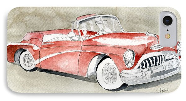 Buick Skylark 1953 IPhone Case by Eva Ason