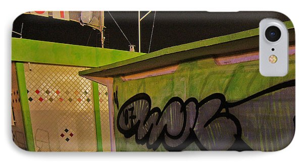 IPhone Case featuring the photograph Building 31 Rimini Beach Graffiti by Andy Prendy