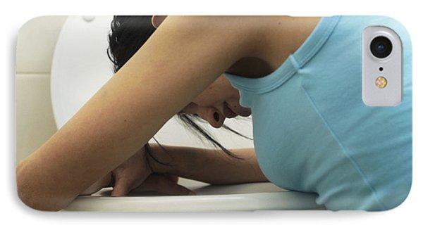Bulimia IPhone Case by Cristina Pedrazzini