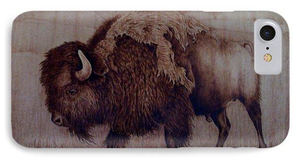 Bull Attitude Phone Case by Jo Schwartz
