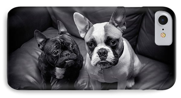 Bulldog Buddies IPhone Case