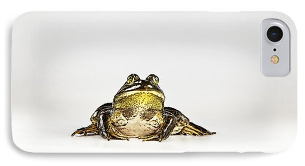 IPhone Case featuring the photograph Bullfrog by John Crothers