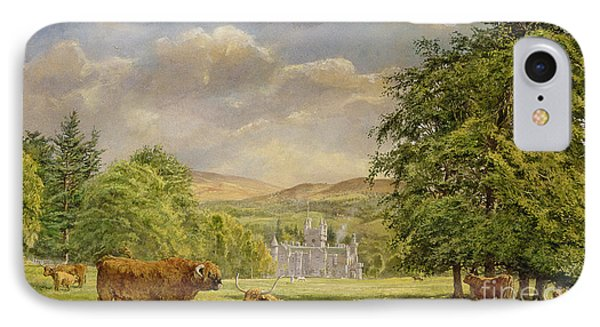 Bulls At Balmoral Phone Case by Tim Scott Bolton