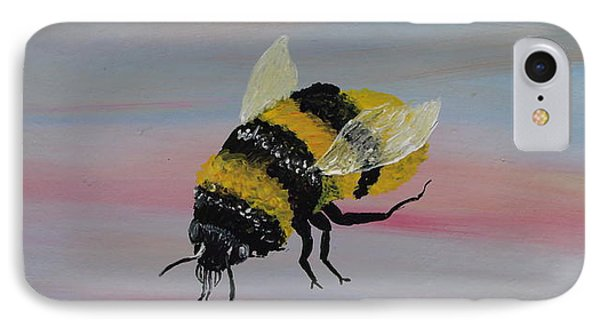 Bumble Bee Phone Case by Mark Moore
