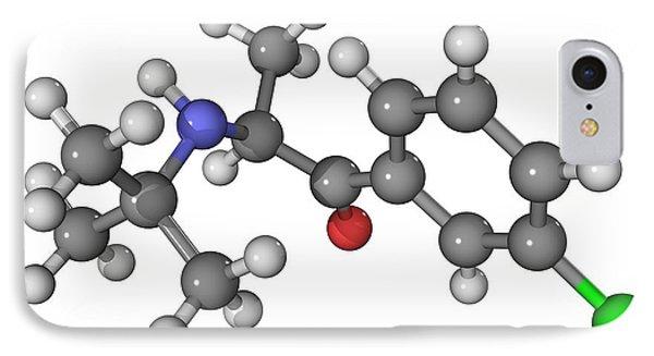 Bupropion Antidepressant Drug Molecule Phone Case by Laguna Design
