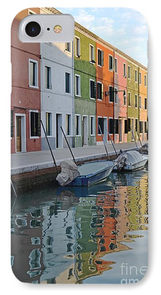IPhone Case featuring the photograph Burano Canal by Rebecca Margraf