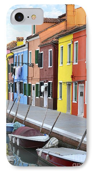 IPhone Case featuring the photograph Burano Italy 2 by Rebecca Margraf
