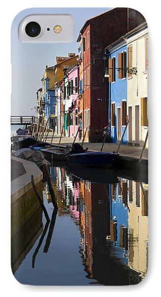 IPhone Case featuring the photograph Burano View  by Raffaella Lunelli