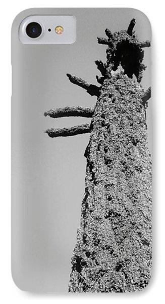 Burned Trees 4 IPhone Case by Naxart Studio