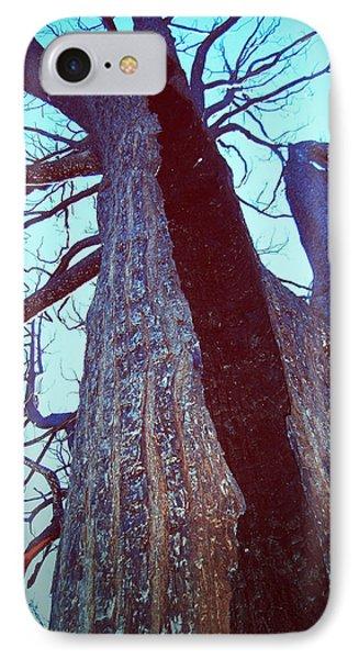 Burned Trees 8 IPhone Case by Naxart Studio