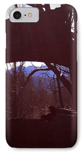 Burned Trees 9 IPhone Case by Naxart Studio