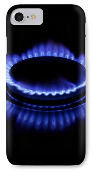 Burning Gas Phone Case by Fabrizio Troiani