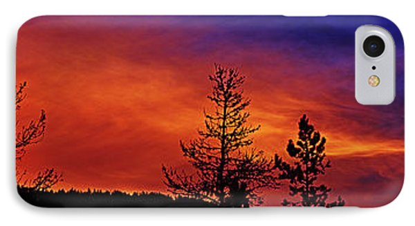 IPhone Case featuring the photograph Burning Sunrise by Janie Johnson