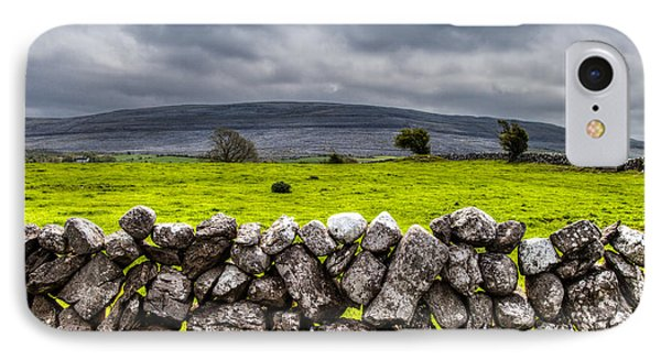 Burren Stones IPhone Case by Juergen Klust