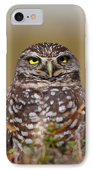 Burrowing Owl II Phone Case by Bruce J Robinson