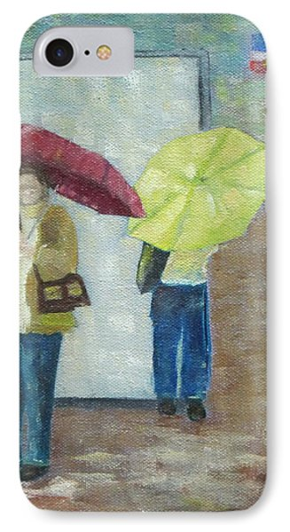 Bus Stop Phone Case by Patricia Cleasby