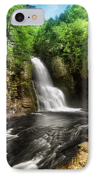 Bushkill Waterfalls Phone Case by Yhun Suarez