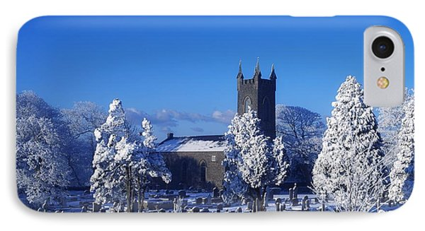 Bushmills Church, County Antrim Phone Case by The Irish Image Collection