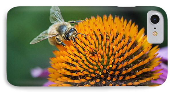 Busy Bee Phone Case by Jen Morrison
