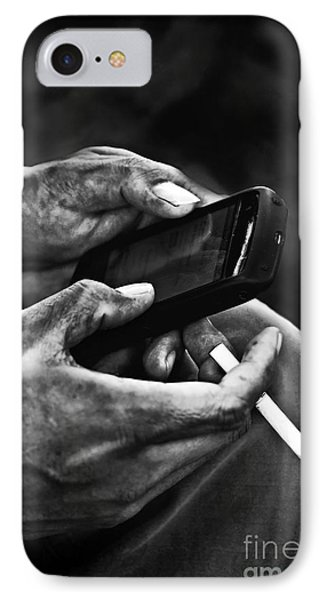 Busy Hands Phone Case by Charuhas Images