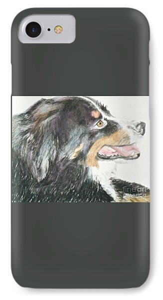 Buttercup The Wonderdog IPhone Case by Beth Saffer