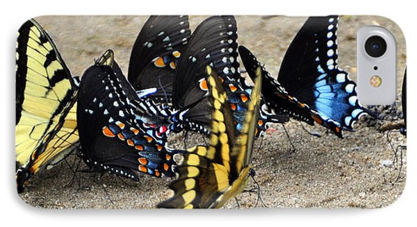 Butterfles And More Butterflies Phone Case by Marty Koch