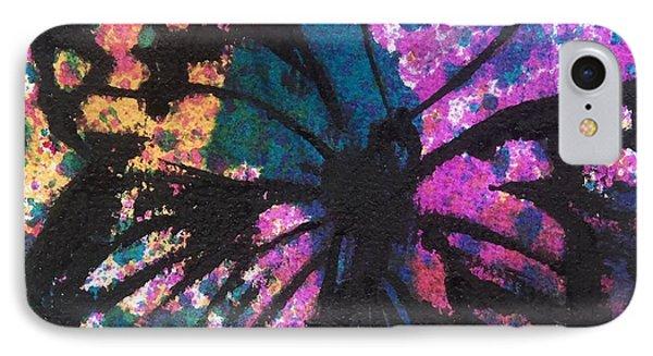 Butterfly Bliss Phone Case by Oddball Art Co by Lizzy Love