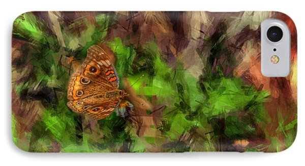IPhone Case featuring the photograph Butterfly Camouflage by Dan Friend