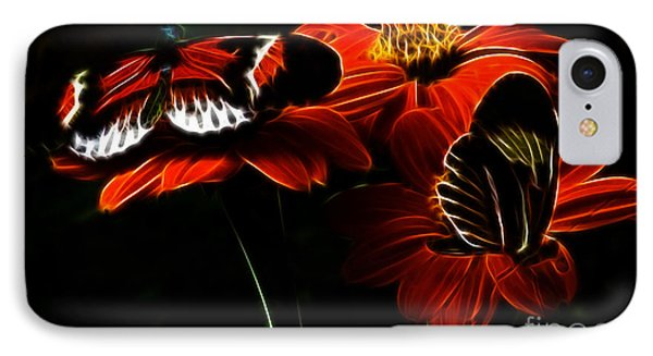 Butterfly Duet IPhone Case by Darleen Stry
