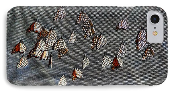 IPhone Case featuring the photograph Butterfly Gathering by Tam Ryan