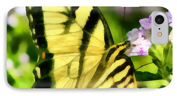 IPhone Case featuring the painting Butterfly by Lynne Jenkins