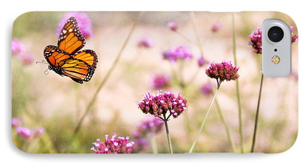 Butterfly - Monarach - The Sweet Life Phone Case by Mike Savad