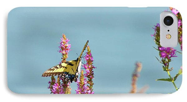 Butterfly Morning Phone Case by Bill Cannon