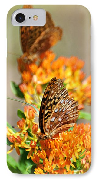 Butterfly Weed 2 Phone Case by Marty Koch