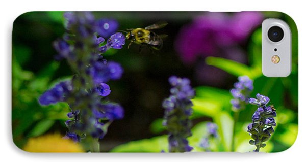 Buzzing Around IPhone Case by Shannon Harrington