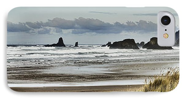 By The Sea - Seaside Oregon State  IPhone Case by James Heckt