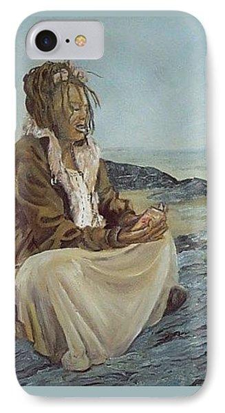 By The Shore Phone Case by Joyce Reid
