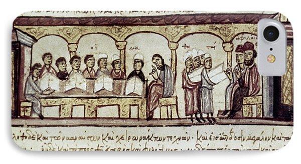Byzantine Philosophy School Phone Case by Granger