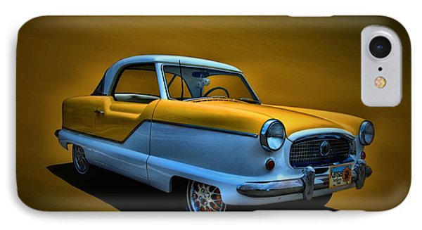 IPhone Case featuring the photograph 1957 Nash Metropolitan by Tim McCullough