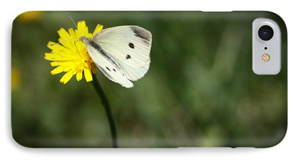 Cabbage Butterfly IPhone Case