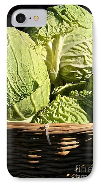 Cabbage Heads Phone Case by Susan Herber