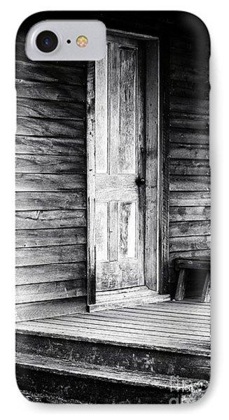 Cabin Door Phone Case by John Rizzuto