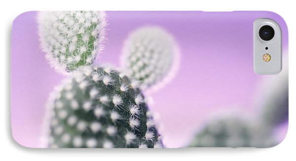 Cactus Plant Spines IPhone Case by Lawrence Lawry