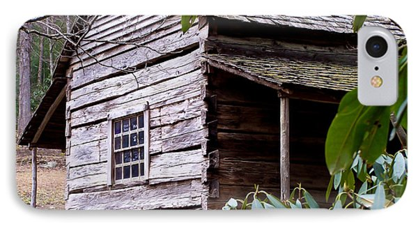 Cades Cove Cabin Phone Case by Jim Finch