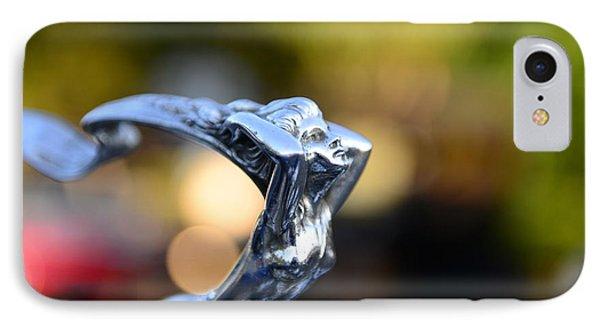 Cadillac Goddess Hood Ornament Phone Case by Paul Ward
