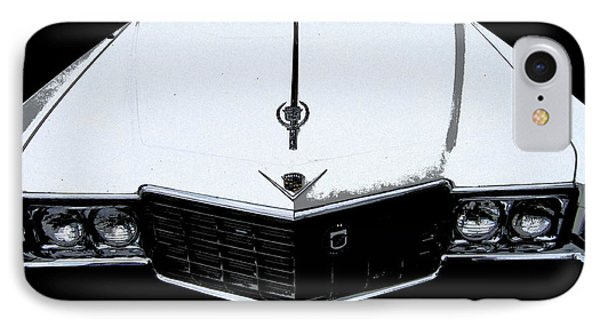 IPhone Case featuring the photograph Cadillac Pimp Mobile by Kym Backland