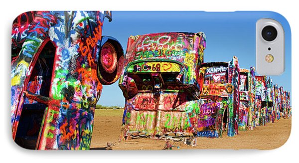 Cadillac Ranch 2  Phone Case by Lana Trussell